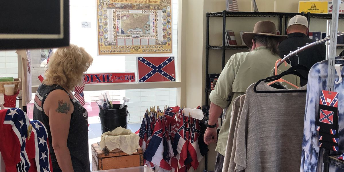 Miss. state flag sales spike at Beauvoir due to flag's retirement