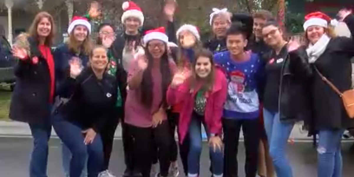 High School Students Donate Truckload Of Toys To Dozens Of Kids
