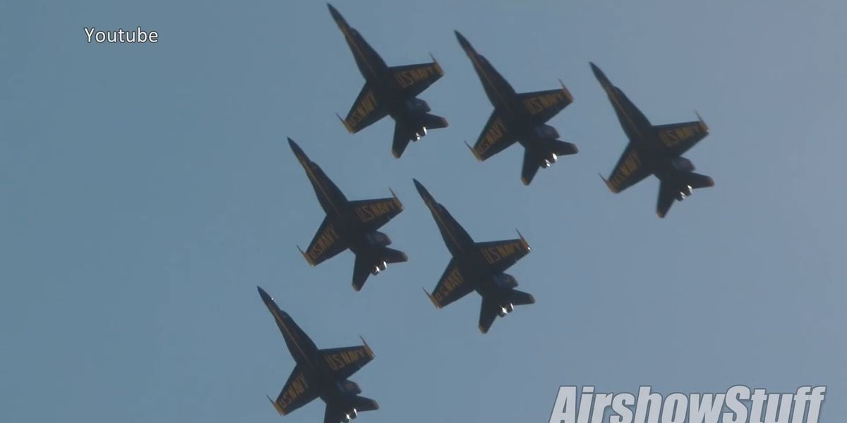 Biloxi welcomes Blue Angels for a preview of July show