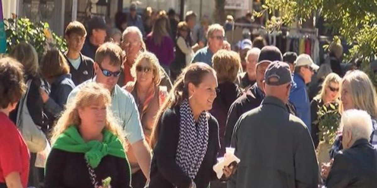 Thousands come out for the first day of the annual Peter Anderson Festival