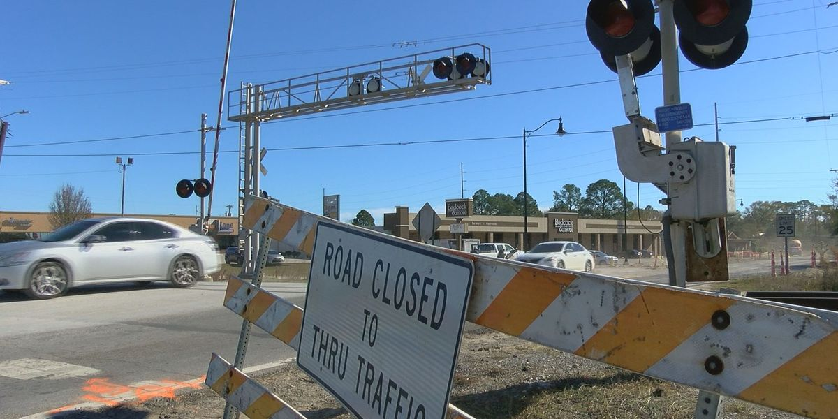 Multiple CSX crossings across South Mississippi to close over the next few weeks