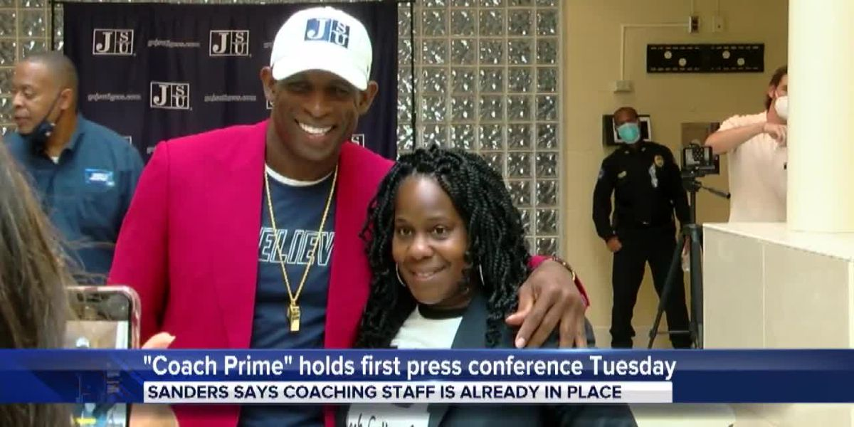 Coach Prime holds first press conference Tuesday