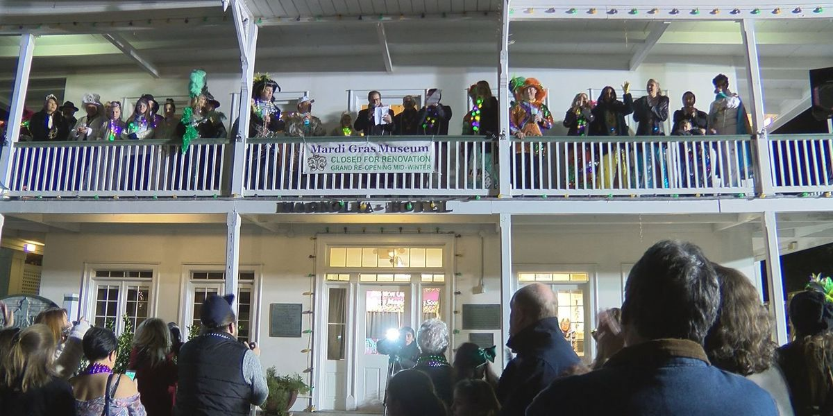South Mississippians celebrate start of Mardi Gras on Twelfth Night