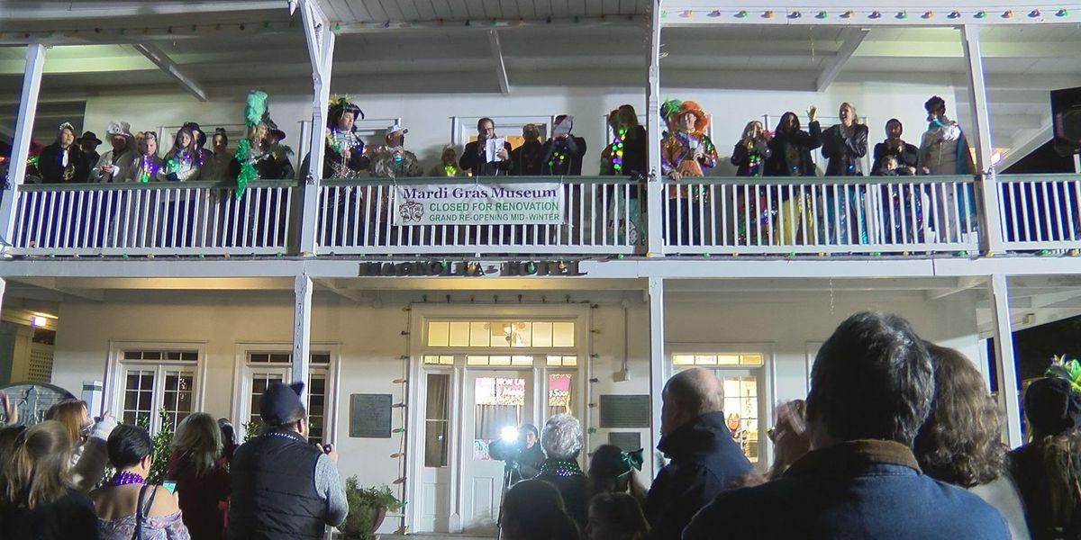 South Mississippians celebrate start of Mardi Gras on Twelfth Night