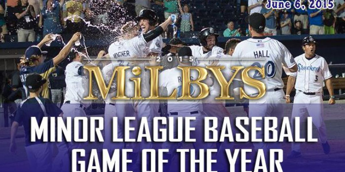 Shuckers first ever game at MGM Park earns MILBY game of the year