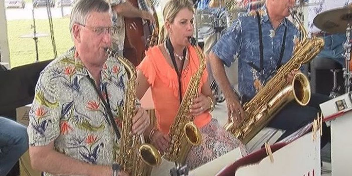 Afternoon showers didn't stop the 11th Annual Jazz in the Pass