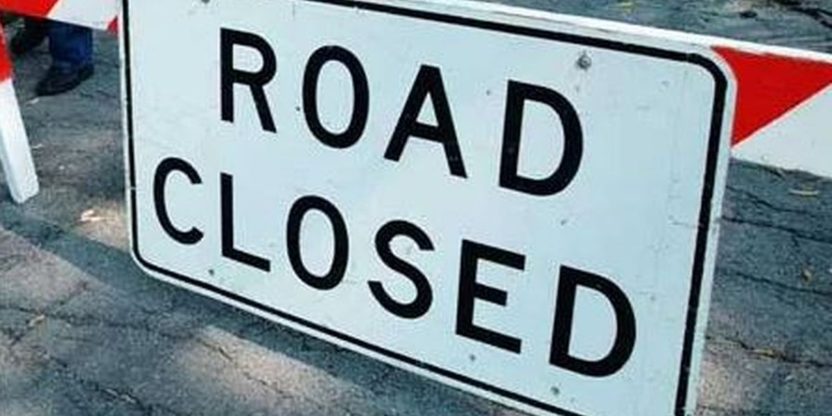 Gulfport road temporarily closes for construction