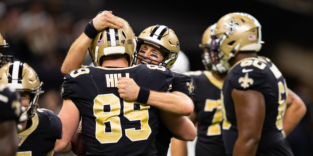 Brees breaks Manning's TD passing record; Saints crush the Colts