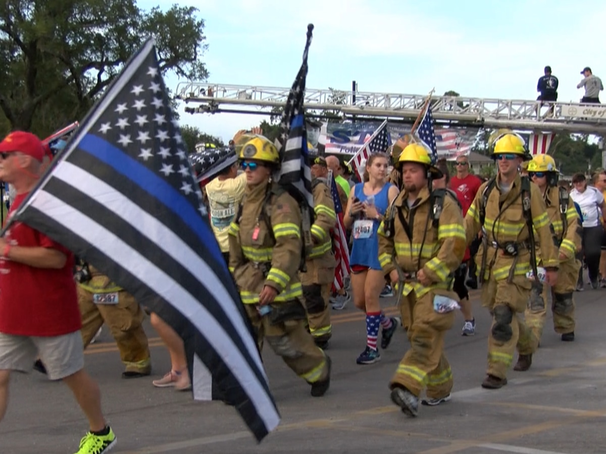 Hundreds participate in annual firefighter run