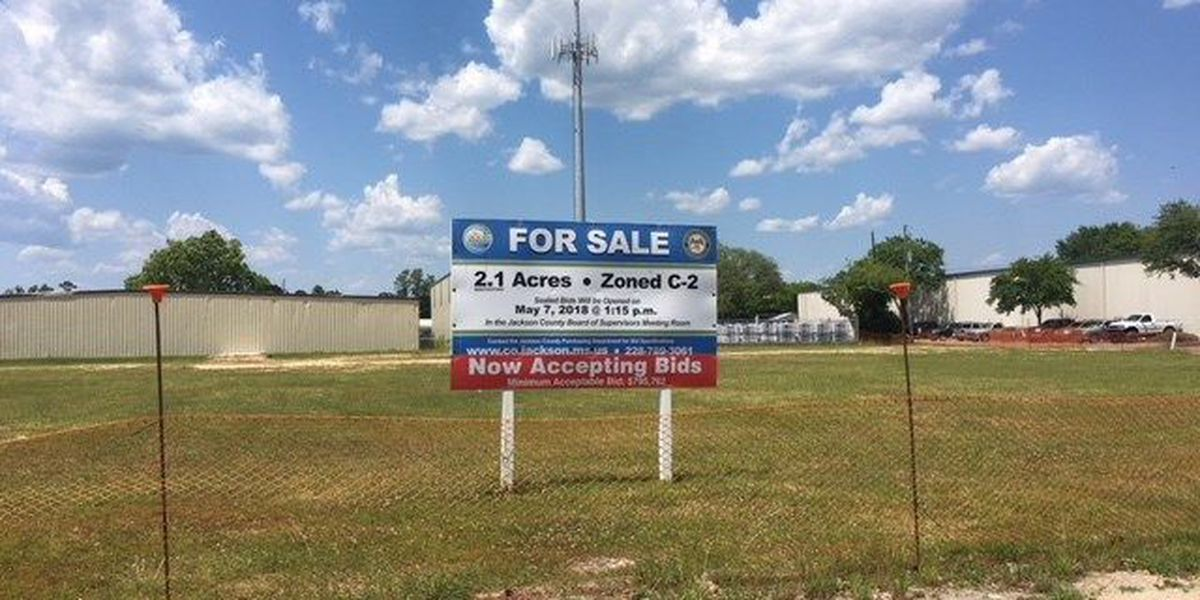 Bids revealed for vacant Ocean Springs property