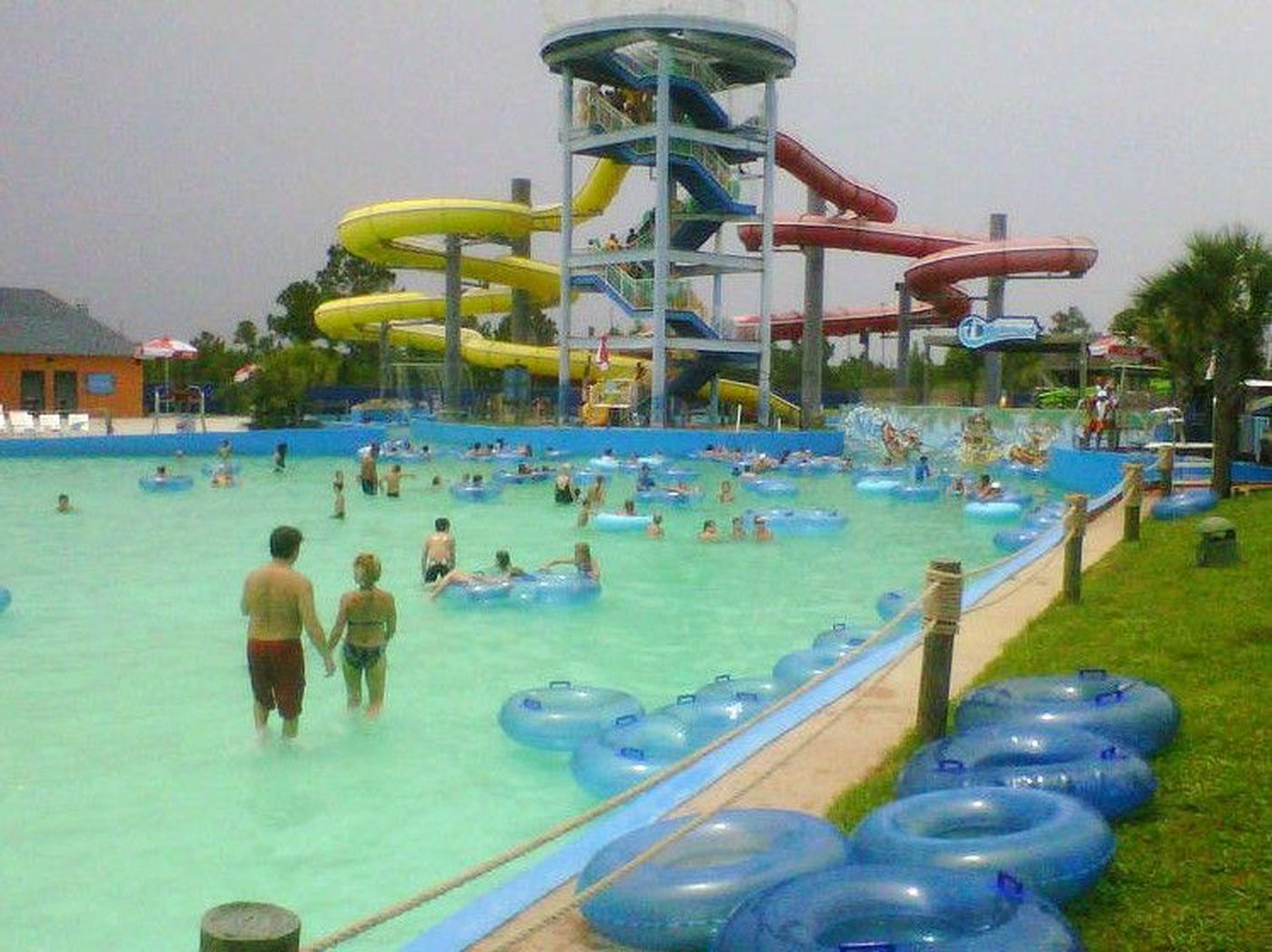 Heat Wave Stokes Attendance At Gulf Islands Water Park