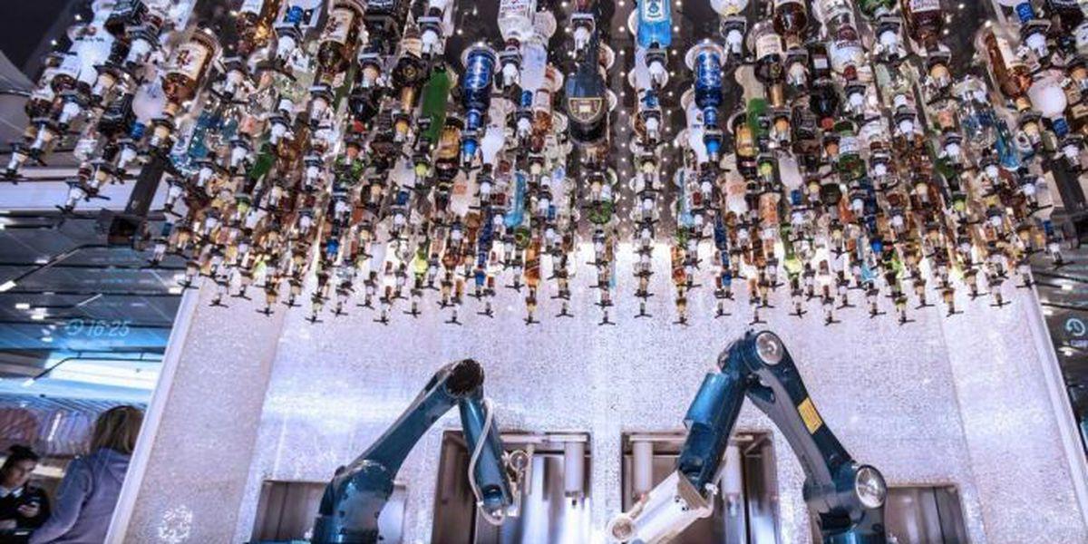Hard Rock Biloxi opened its new Robo Bar Thursday