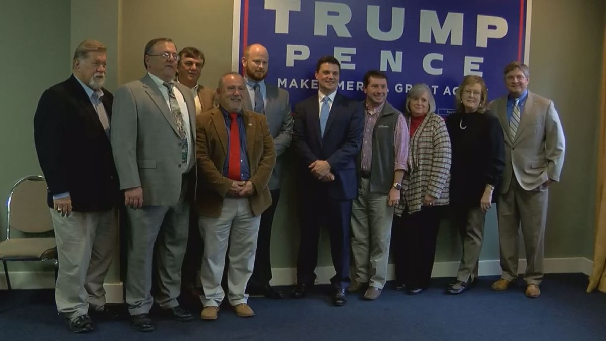 Eight elected officials announce party switch, join Mississippi Republican Party
