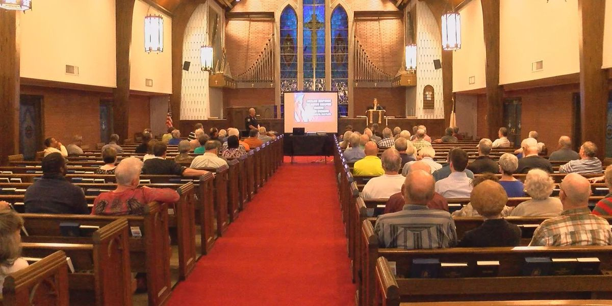 Community leaders take proactive approach to church security