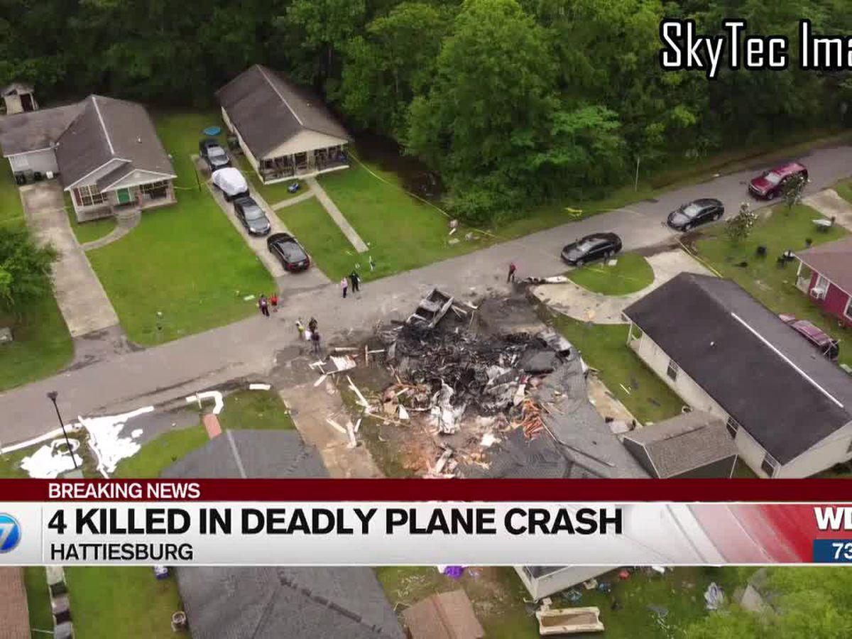 Hattiesburg, NTSB officials discuss deadly Tuesday night plane crash