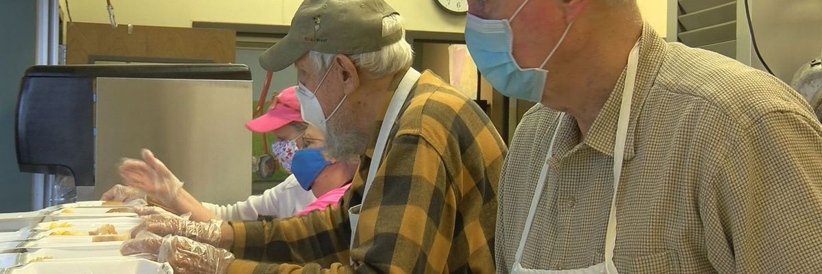 Gulf Coast food pantries see uptick in donations during pandemic