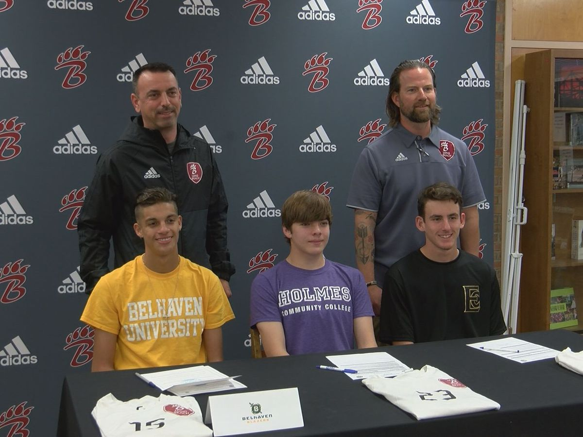Trio of Long Beach soccer standouts sign letters of intent