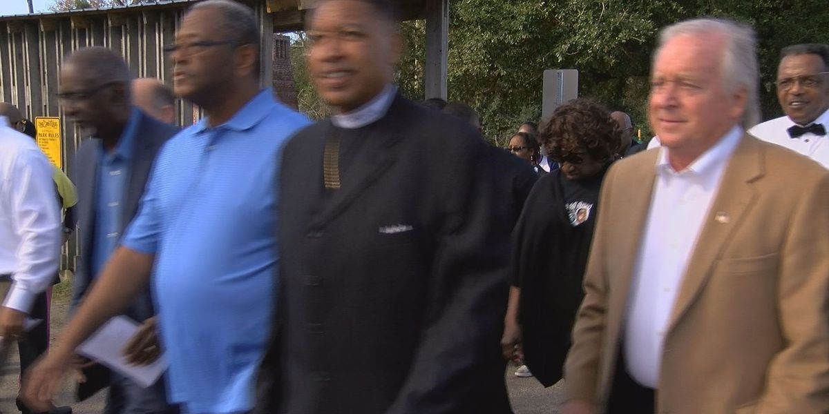 Bay St. Louis celebrates MLK day with parade, church service