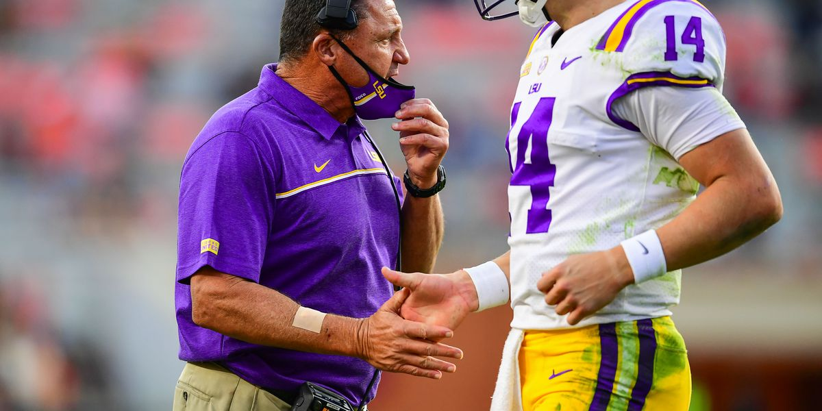 Ed Orgeron remains confident after slow start