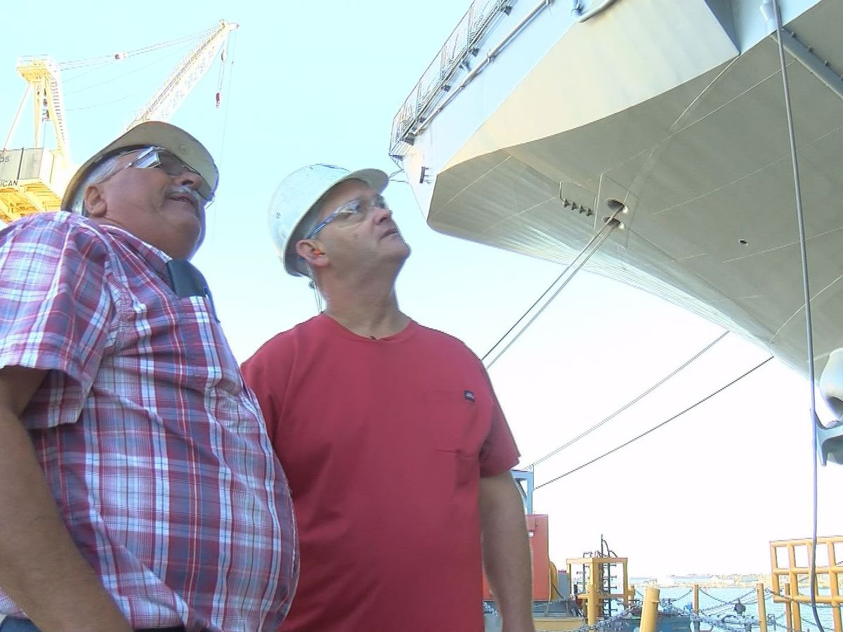 Four generations continue legacy of shipbuilding at Ingalls