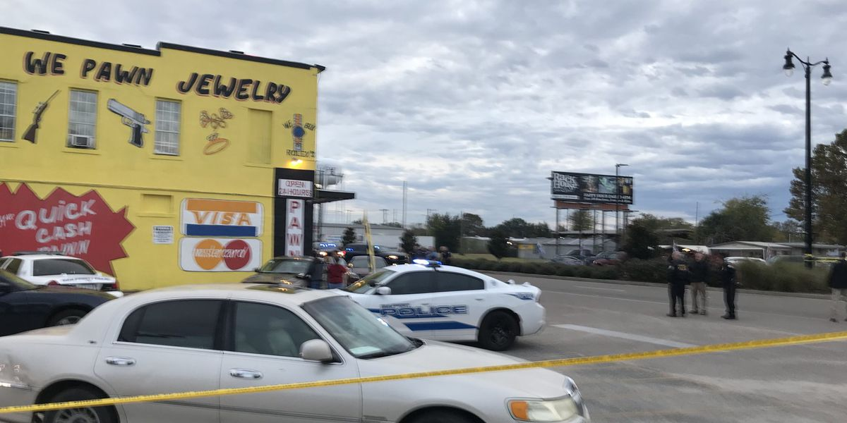 Male receives gunshot wounds after shooting with police in downtown Gulfport