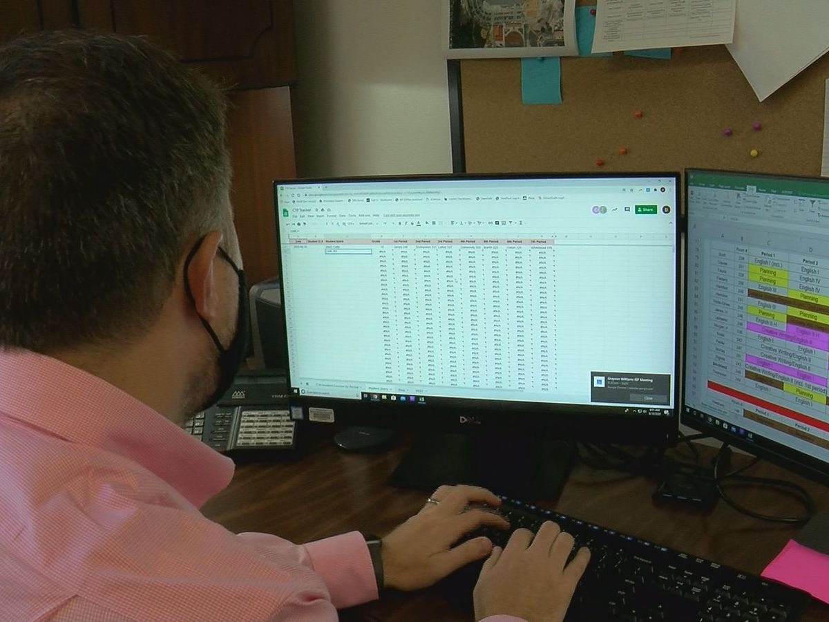 'We hope to never use it': Biloxi High develops data program to track COVID cases