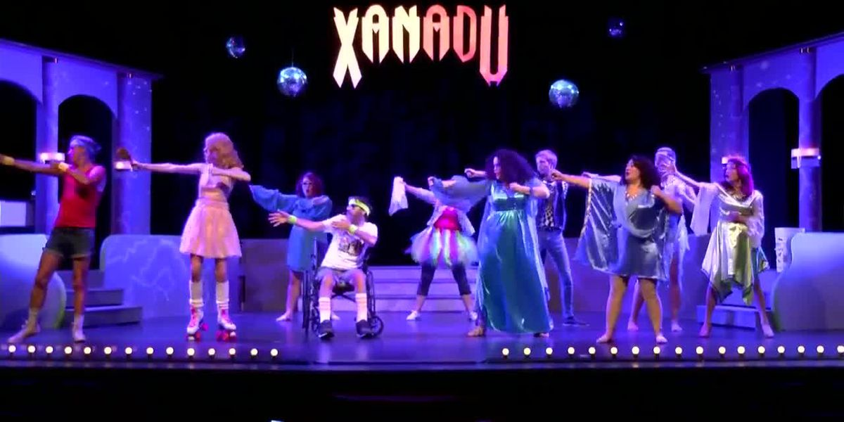 A backstage look at the Walter Anderson Theater Project's 'Xanadu'
