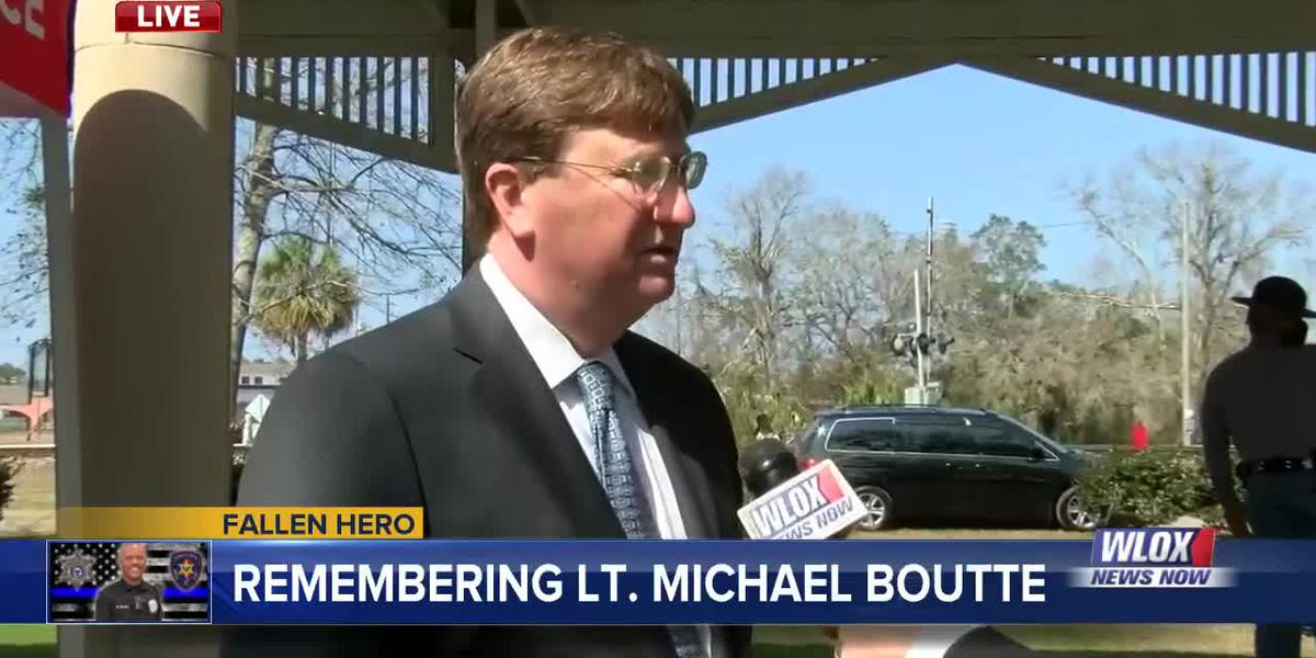 Mississippi Governor Tate Reeves mourns the death of Lt. Michael Boutte