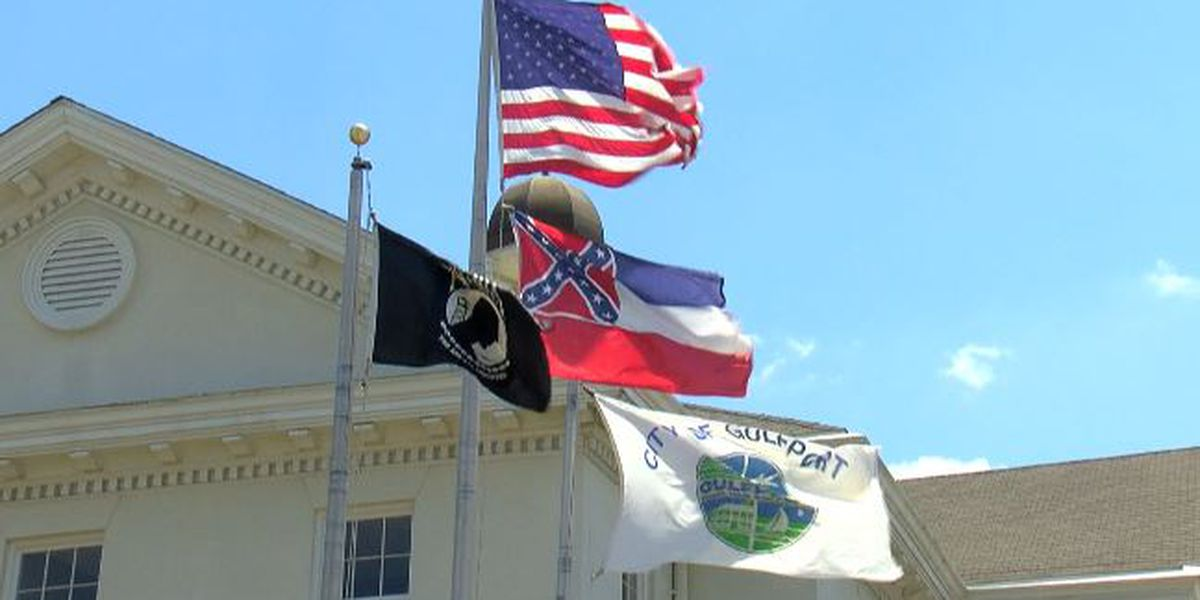Gulfport city leaders unanimously decide to take down state flag