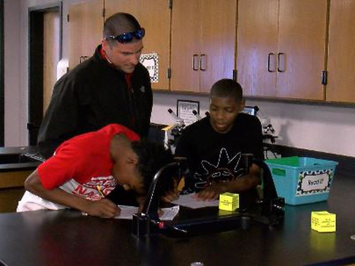 First day of school for Biloxi Public Schools' newly-elected superintendent