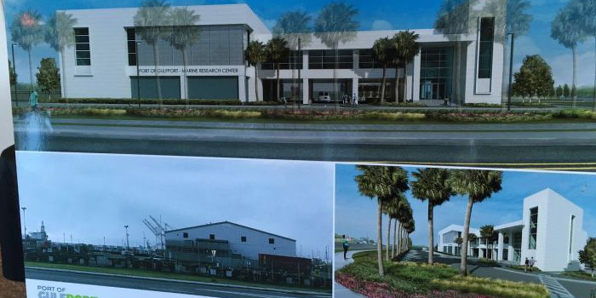 USM Marine Research Center planned at Port of Gulfport