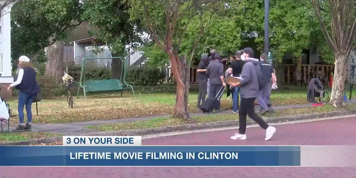 Historic Clinton, quaint atmosphere lures producers to film Lifetime movie