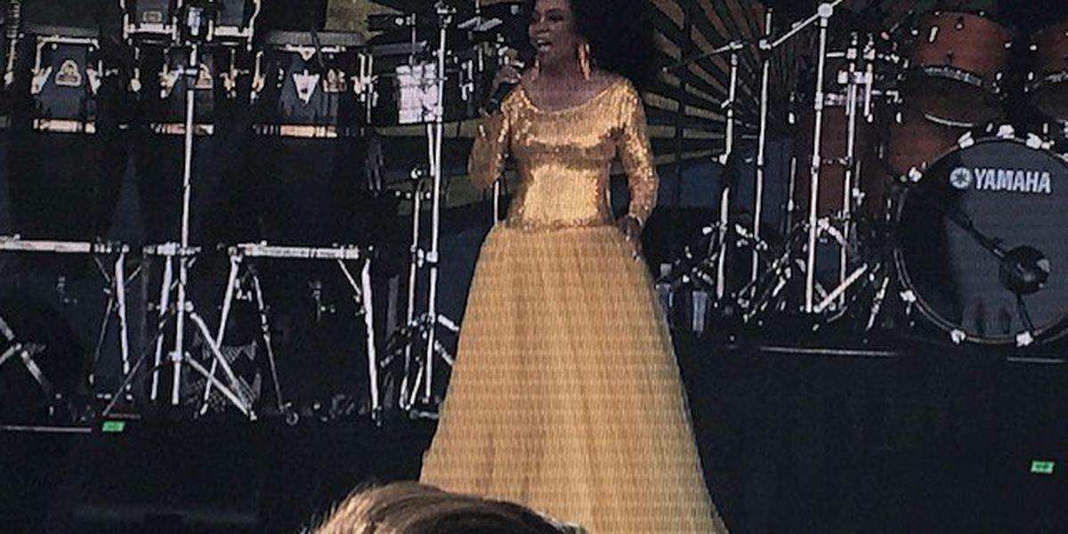 Diana Ross tweets about unpleasant TSA experience following Jazz Fest performance