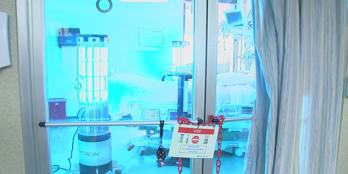 An inside look at how Singing River Hospital is treating coronavirus patients