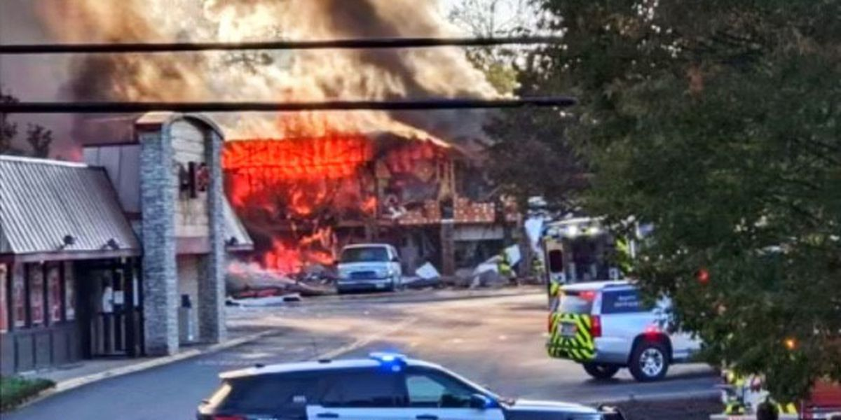 Explosion reported on South Main Street in Harrisonburg, Va.