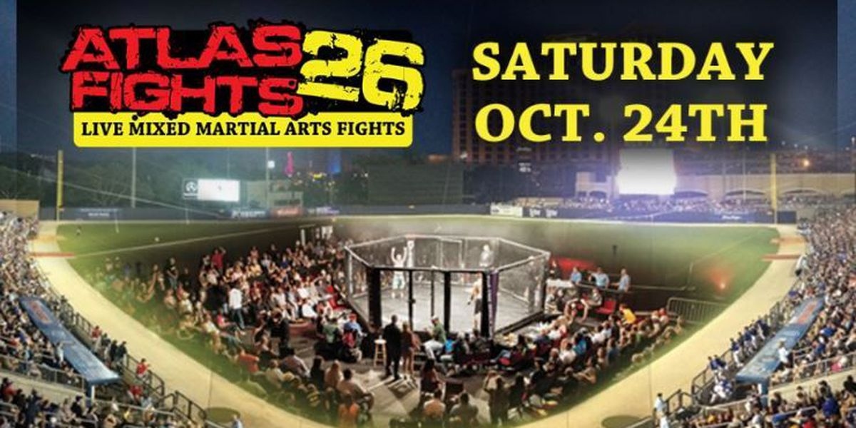 MGM Park will be the site of Mixed Martial Arts fights in October