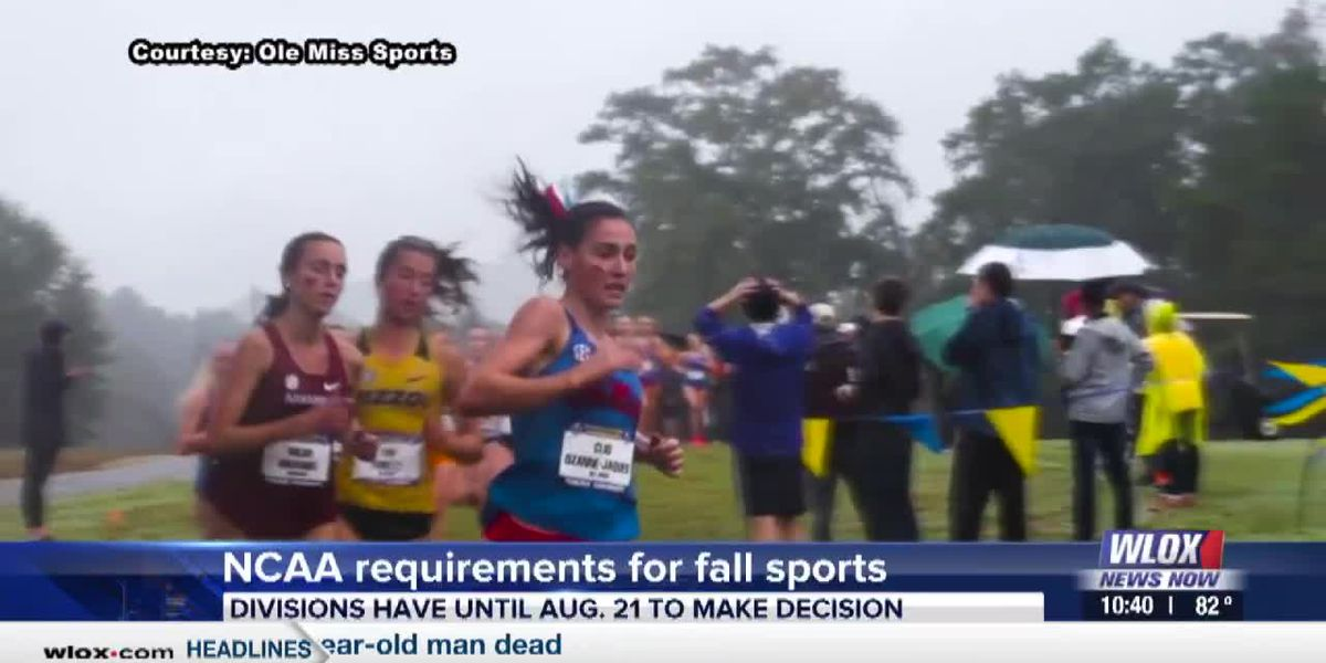 NCAA release requirements for fall sports