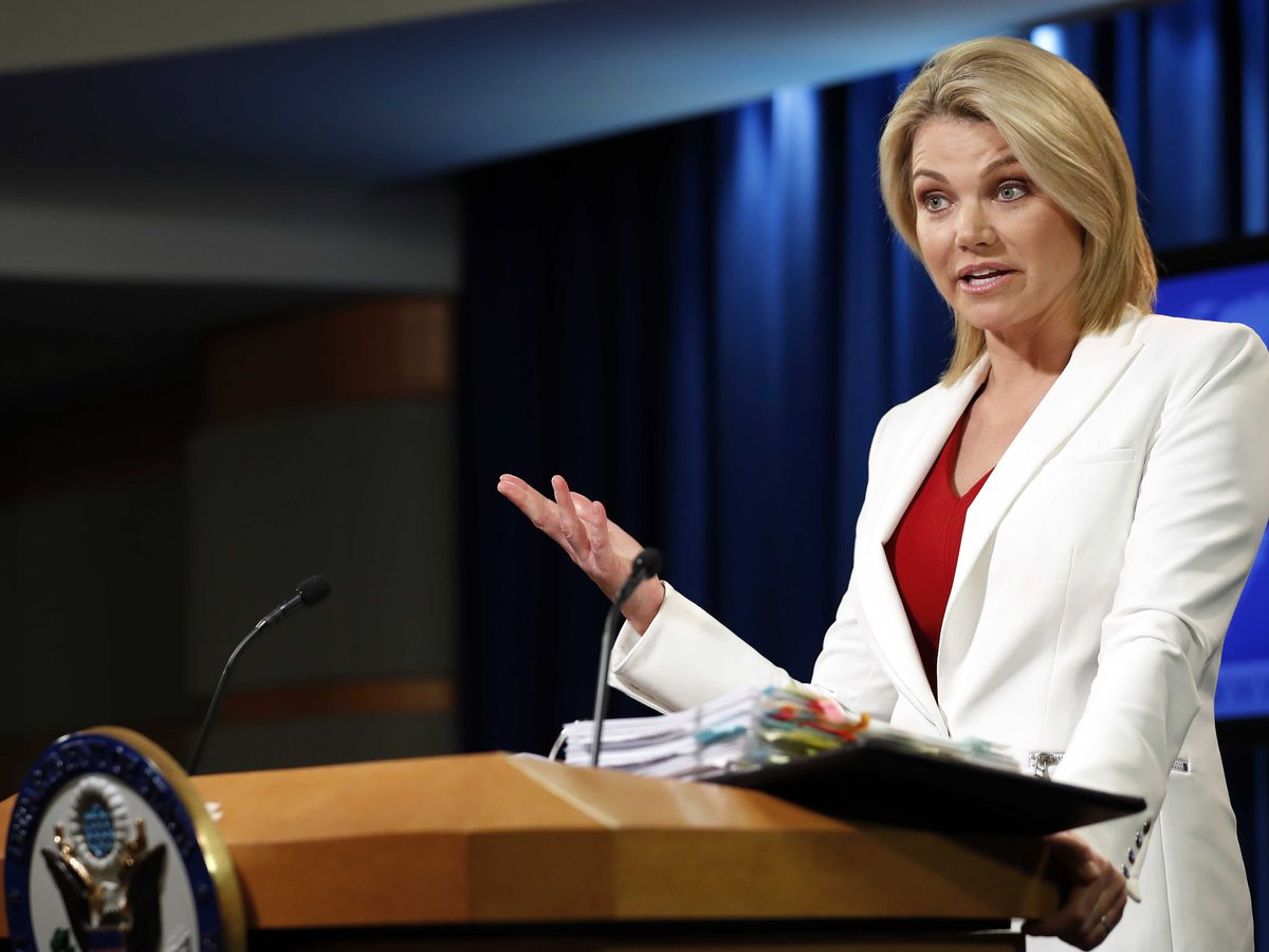 Heather Nauert withdraws bid to be UN ambassador, State Department says