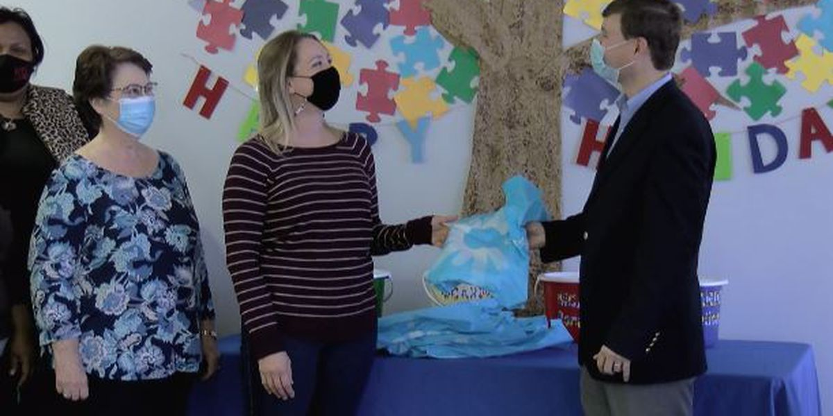Mississippi Centers for Autism and Related Developmental Disabilities receives generous donation