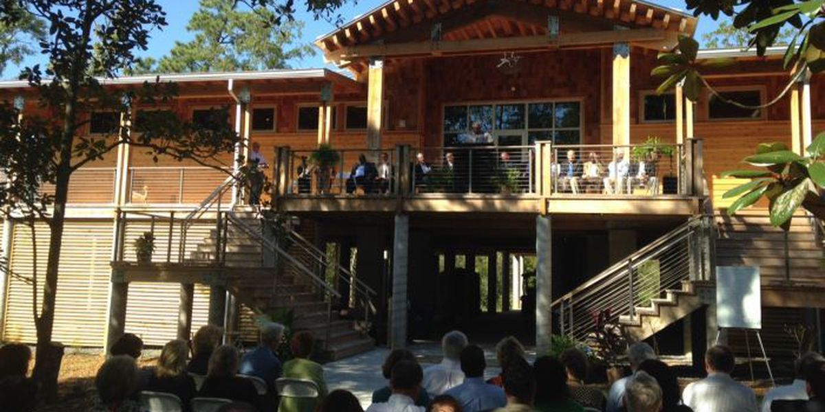 Pascagoula River Audubon Center celebrates grand opening