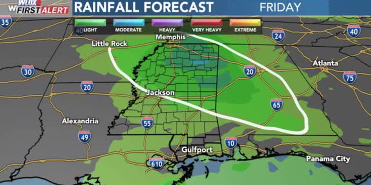 FORECAST VIDEO: 12-6-19 Hit-or-miss showers today and tonight