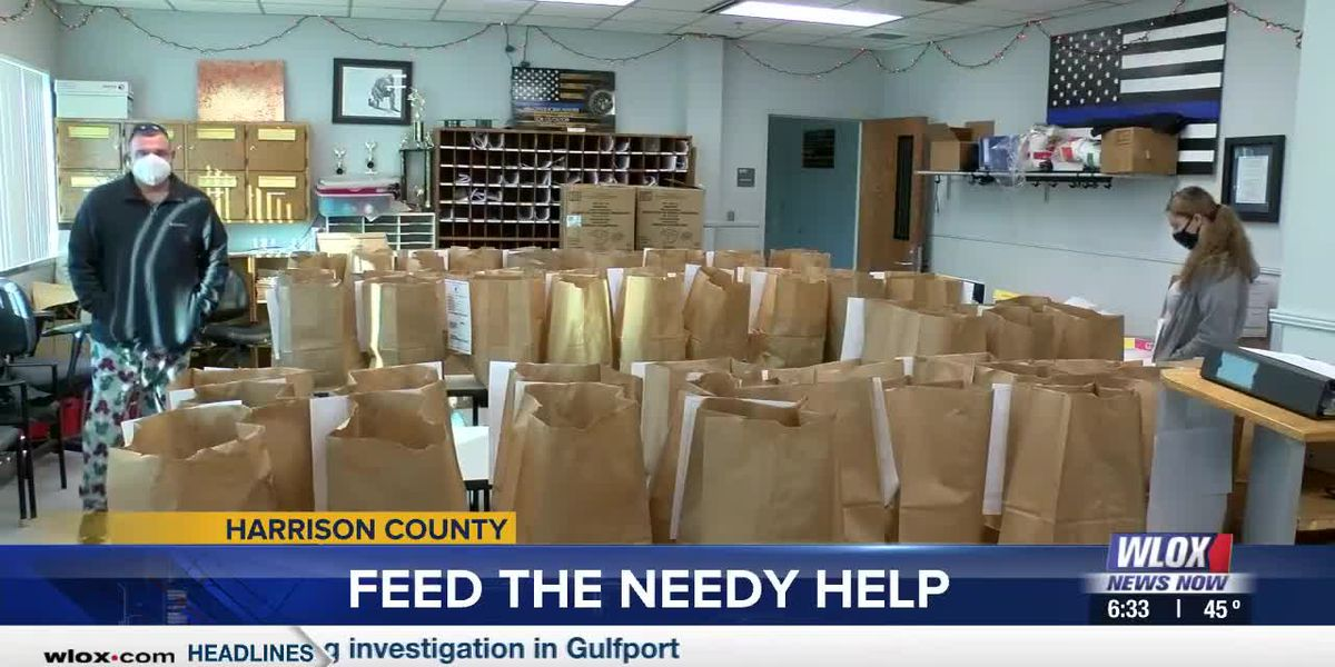 Harrison County law enforcement agencies hand out 1,000 meals