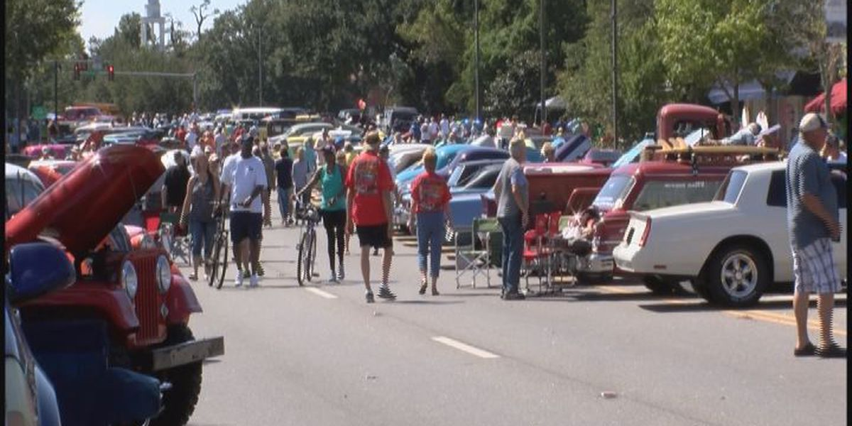 Moss Point's second Cruisin' the River City is a hit
