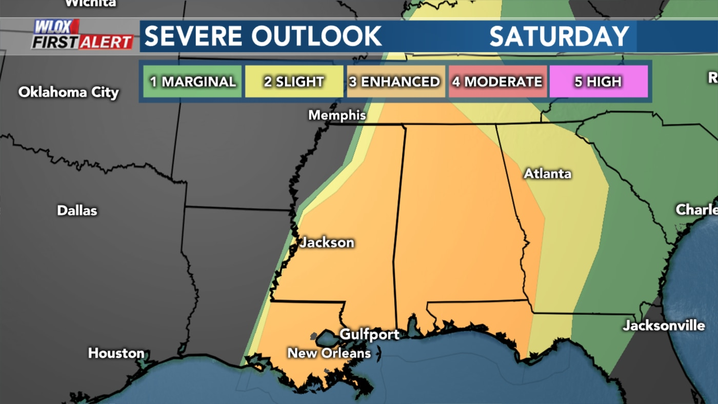 First Alert Strong To Severe Storms Possible Saturday