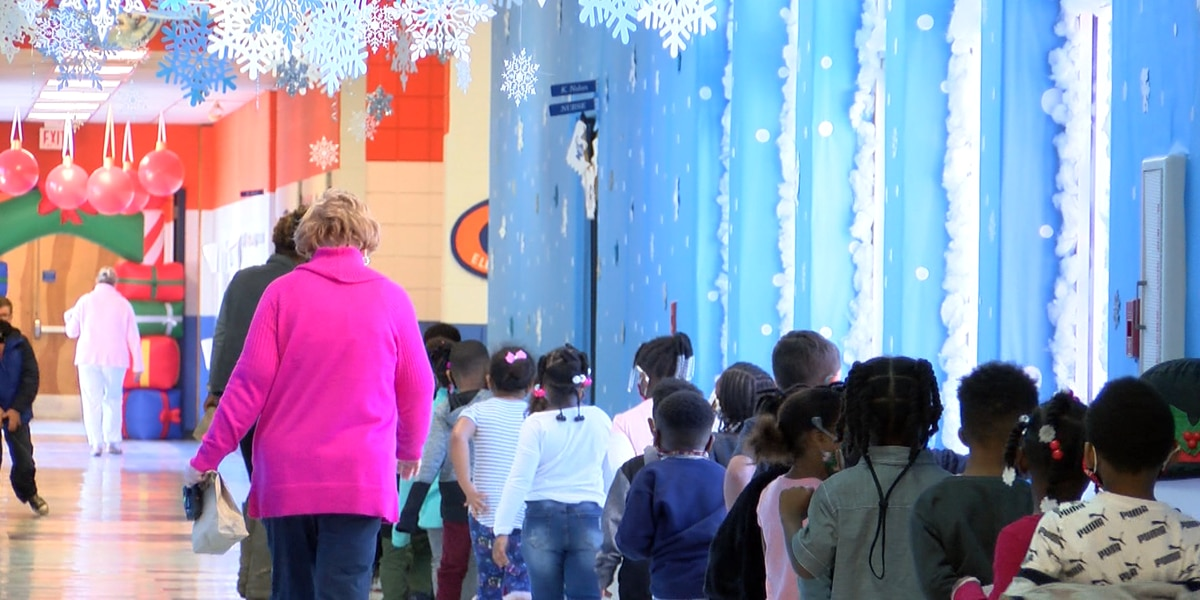 West Elementary teacher goes above and beyond to create Christmas wonderland