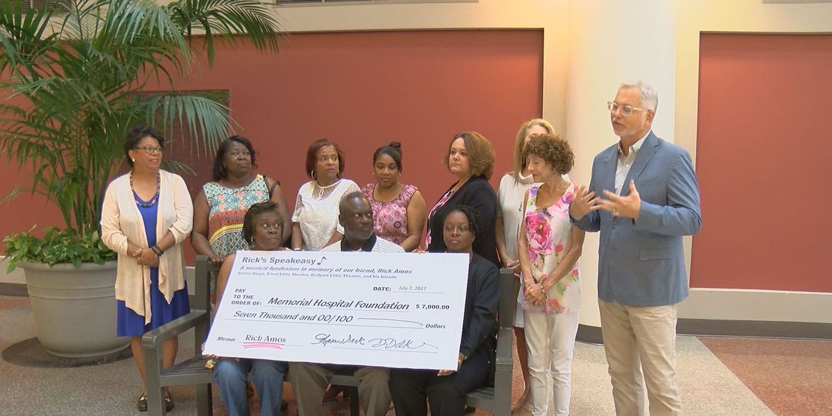 $7,000 donated to hospital in memory of Rick Amos