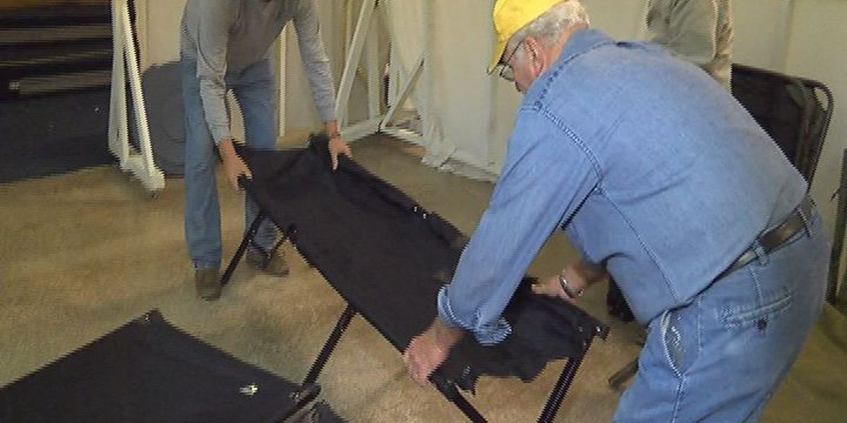 Cold weather shelters rely on community help
