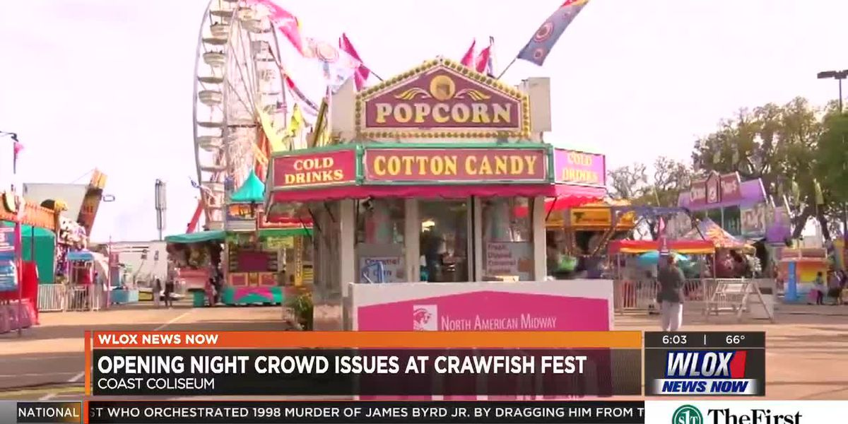 No more free admission after Crawfish Festival gets chaotic