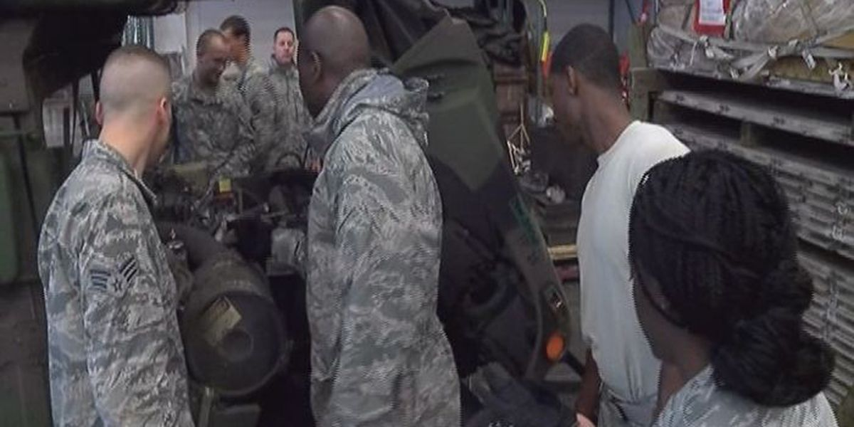 Air Force and Army troops hold joint training at Keesler Air Force Base