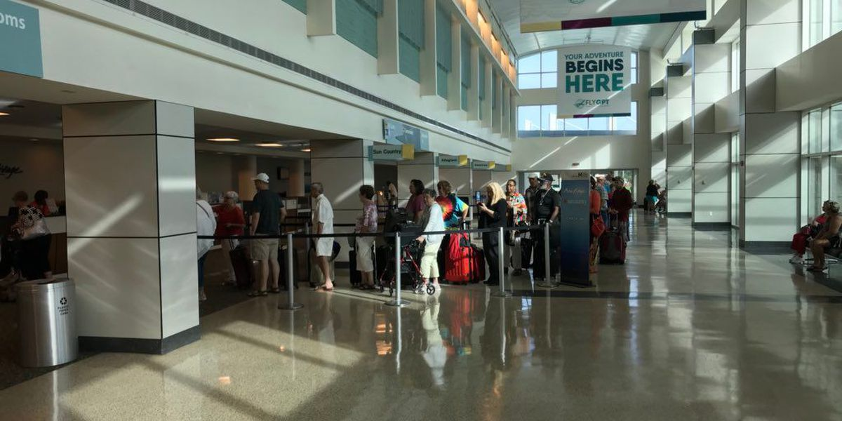 Gulfport airport evacuated after small fire